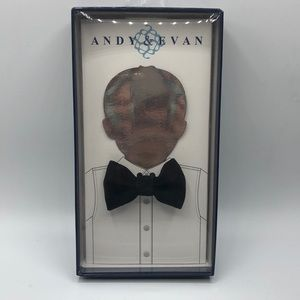 NWT Andy & Evan Infant Adjustable Bowtie in Black